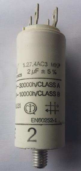 Capacitor De Partida Arcotronics 2uf, 470vac, 5% Nova /#8