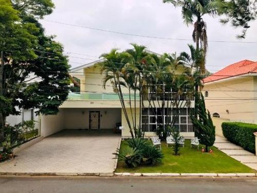 Imagem 1 de 14 de Sobrado Com 4 Dormitórios À Venda Por R$ 3.200.000,00 - Alphaville Residencial 2 - Barueri/sp - So0125