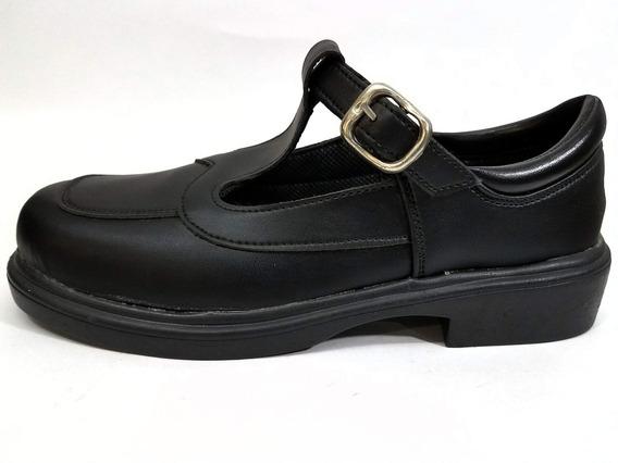 Zapatos Para Nenas Colegiales Con Hebilla