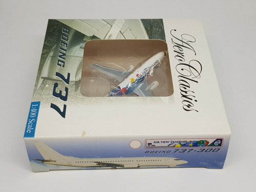 Miniatura Avião Aeroclassics 1:400 Air New Zealand B 737-300