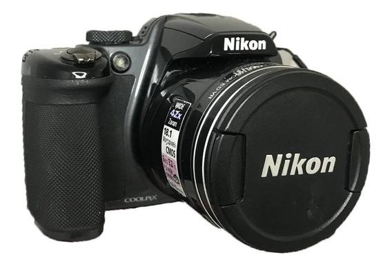 Camera Semi-profissional Nikon Coolpix P520 Seminova Perfeit