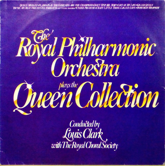 The Royal Philharmonic Orchestra Lp Plays The Queen Collect