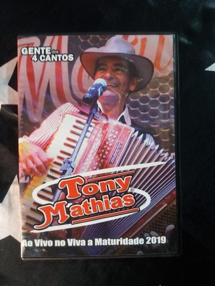Dvd Tony Mathias - Viva A Maturidade Ao Vivo 2019