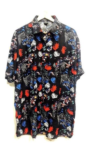 Camisa Hawaiana Grande Tendencia Fibrana Talle 50
