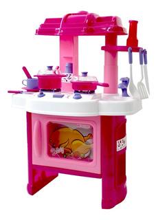 Set De Cocina Infantil Luces Y Sonidos / R4511
