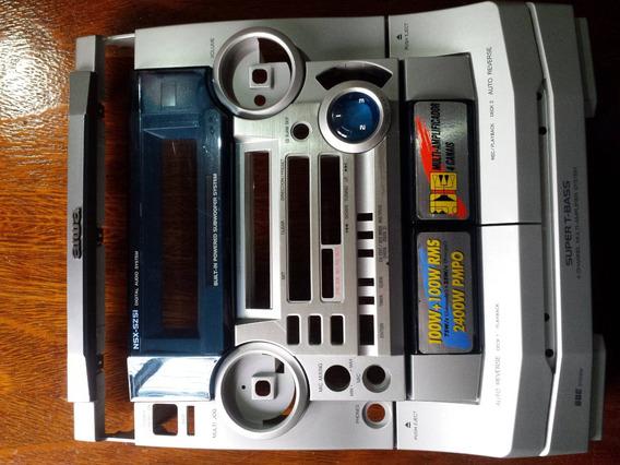 Painel Frontal Completo Radio Aiwa Nsx-sz51 Original