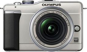 Olympus Pen E-pl1 Com 2 Lentes E Caixa Subaquática