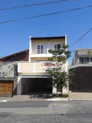 Sobrado Com 4 Dormitórios À Venda, 210 M² Por R$ 1.399.999,99 - Jardim Da Glória - São Paulo/sp - So0423