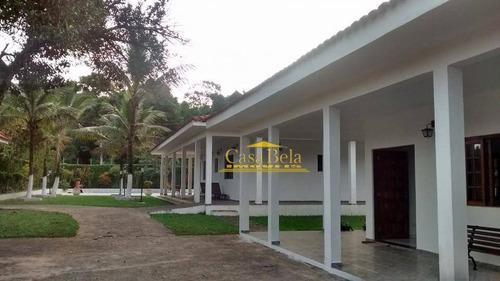 Chácara Com 6 Dormitórios À Venda, 2500 M² Por R$ 980.000 - Umuarama - Itanhaém/sp - Ch0042