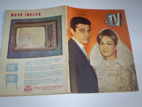 Revista São Paulo Na T V  Nº338 10/65 Carlos Zara Meire Nogu