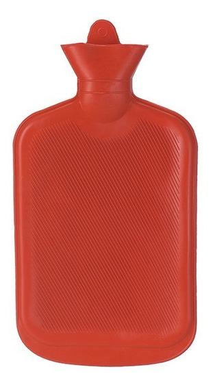 Bolsa Térmica Compressa Água Quente Em Borracha 2 Litros