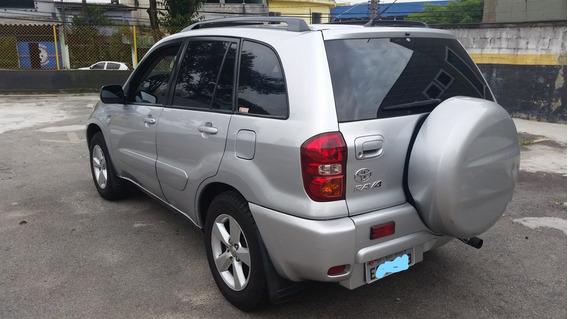 Toyota Rav 4 Aut. 4x4 2005 Blindado Troco Strada Saveiro Fit