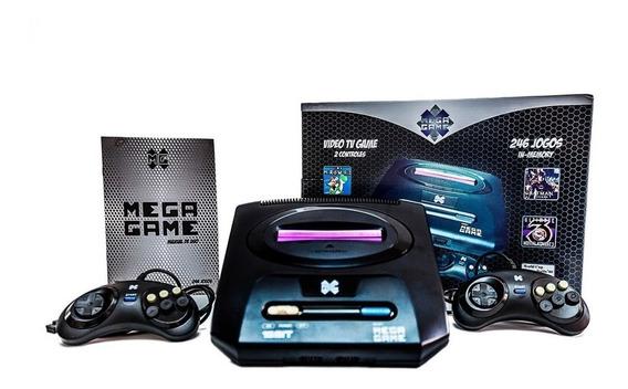 Vídeo Game Retrô Mega Drive Game 123 Jogos 2 Controles