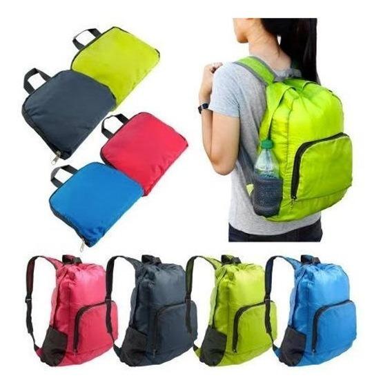 Mochila Travel Bag Plegable Microcentro