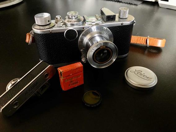 Leica Standard New York Com Lente Leitz - Rara! Funcionando!