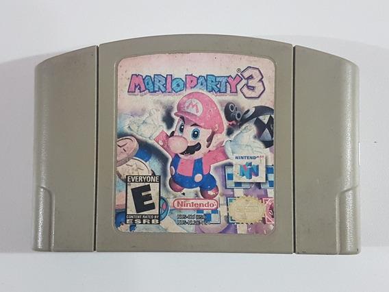 Mario Party 3 Original Para Nintendo 64