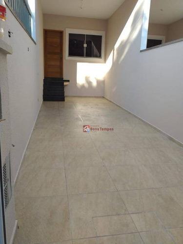 Sobrado Com 3 Dormitórios, 1 Suite, 2 Vagas À Venda, 110 M² Por R$ 430.000 - Jardim Nordeste - São Paulo/sp - So2828