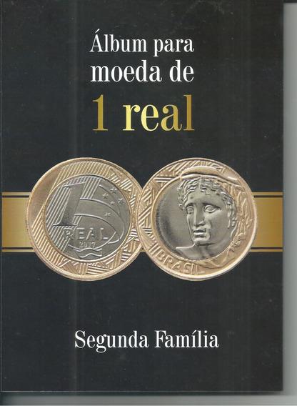 Álbum Moedas 1 Real Segunda Família