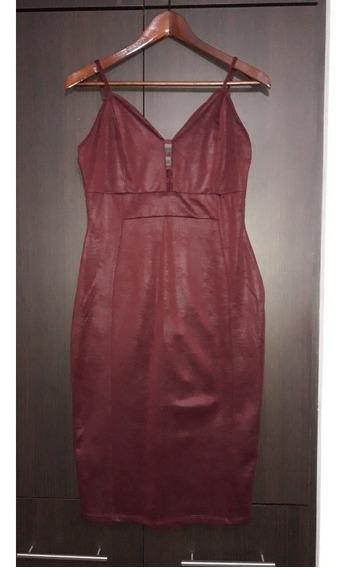 Vestido Corto Gamuzado/ Talla L