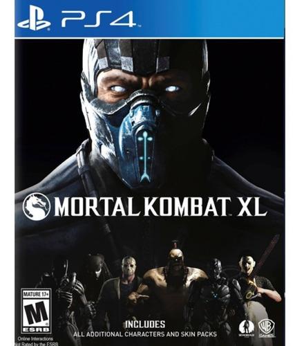 Mortal Kombat Xl Ps4 ¡ Totalmente Nuevo Y Sellado!