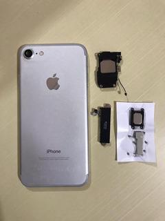 Carcaça iPhone 7 Prata Original Retirada