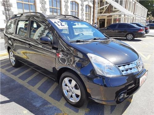 Imagem 1 de 11 de Nissan Grand Livina 1.8 Sl 16v Flex 4p Automático