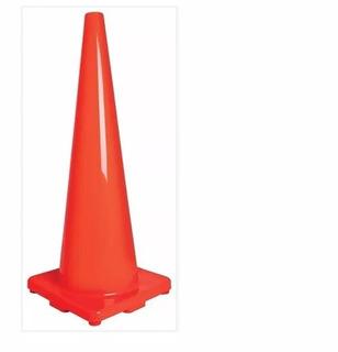 Cono De Precaución De Pvc 90cm Truper 13126