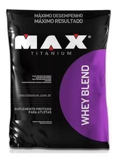 Whey Protein Blend 2kg - Max Titanium - C/ Nf