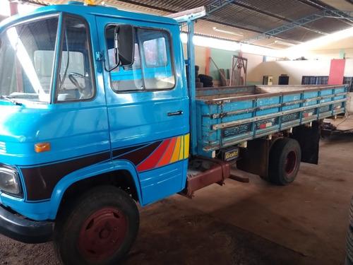 608 D Diesel  3/4 Carroceria De Madeira