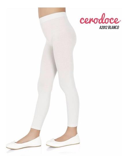 Leggings Nena Blanco Talle 12 (negro Consultar)
