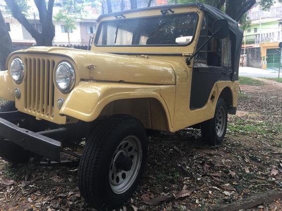 Jeep Willys 1957 - Mecânica Original