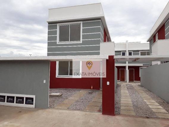 Casa Duplex, Recreio/ouro Verde, Rio Das Ostras. - Ca0884
