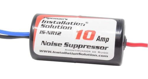 Filtro Supresor De Ruido Alternador 10amp Is-nr12 Stereo 12v