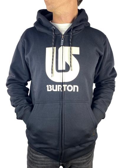 Buzo Con Cierre Burton Logo Vertical