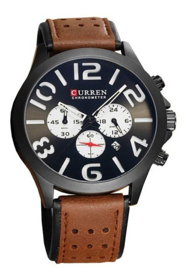 Relógio Masculino Sport Luxo Curren Original + Caixa