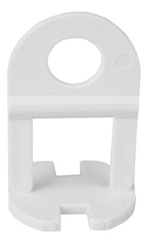 Imagem 1 de 5 de 100 Clips Niveladores 1mm + 300 Cunhas Junta Porcelanato