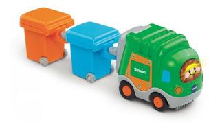 Vtech Tut Tut Vehiculo Camion Tractor Autitos Remolque