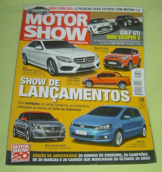 Revista Motor Show - Edição 378 - Set - 2014.