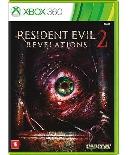 Jogo Novo Resident Evil Revelations 2 Para Xbox 360