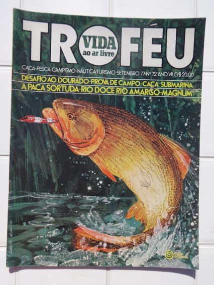 Revista Troféu Nº 72 Magnum Dourado Paca Caça Submarina