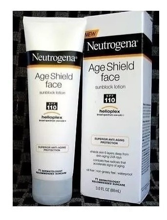 Protetor Solar 110 Spf Neutrogena Age Shield Face Original