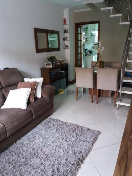 Sobrado Em Condomínio Fechado À Venda, Demarchi, São Bernardo Do Campo. - So0685