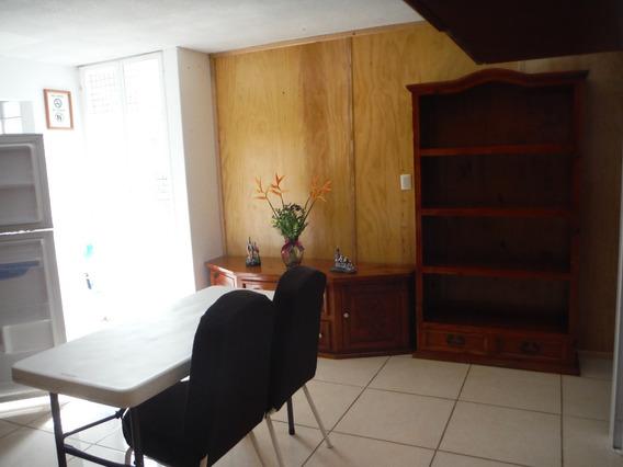 Departamento Amueblado De 1 Habitación, Chapultepec, Morelia