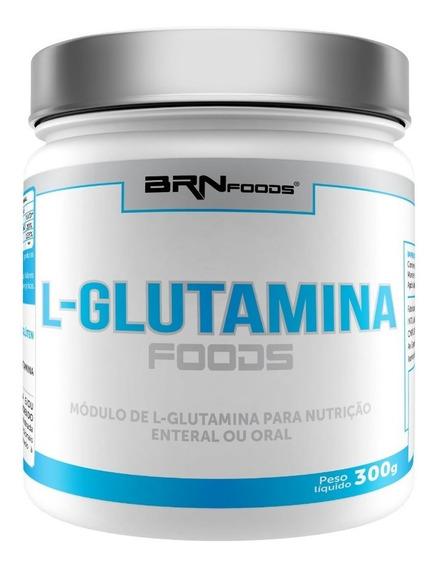L-glutamina Foods 300g - Parcela S/ Juros - 3 = Frete Grátis