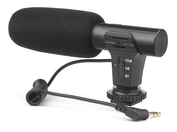 Shoot Xt-451 Condensador Portátil Microfone Estéreo Microfon