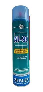 Alcohol En Aerosol Ai-99 Servex 440cc Deshumectado, Inodoro