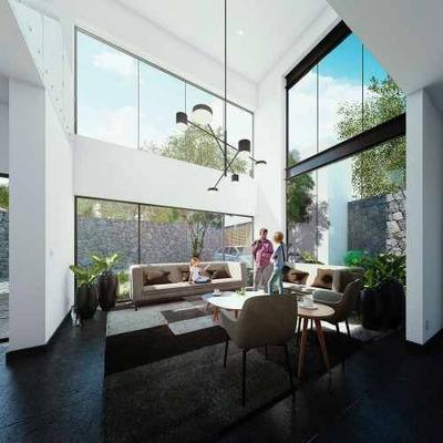 Residencias Con Un Gran Jardín En Condominio En San Jerónimo