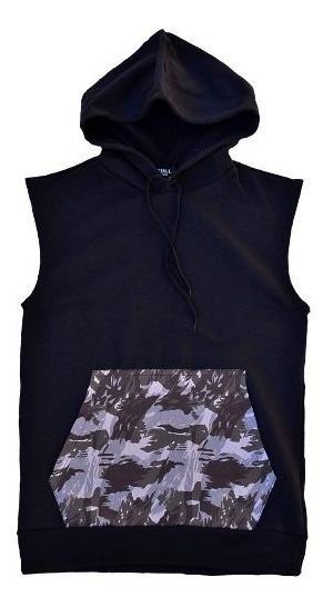 Blusa Moleton Canguru Camuflado - Moletom Com Capuz De Frio