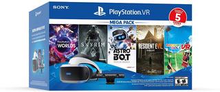 Playstation Set Vr Ps4 Astro Bot Resident Evil Sky Rim