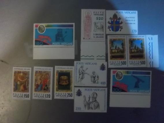 10 Estampillas Vaticano 1978